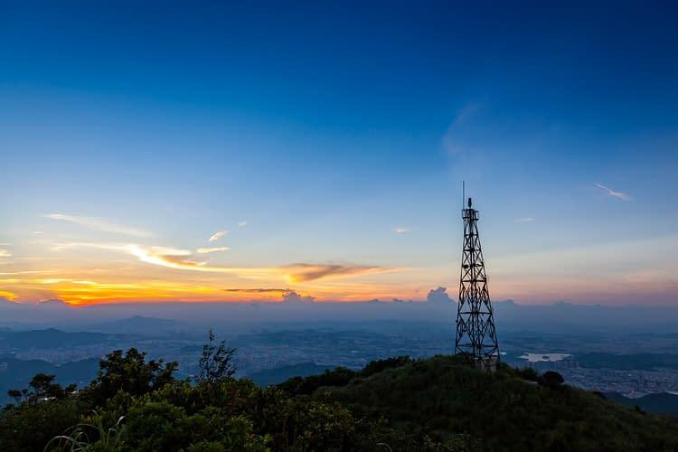 A telecommunication tower