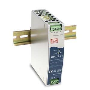 POWER SUPPLY – DIN RAIL 120/240V TO 48VDC-75W